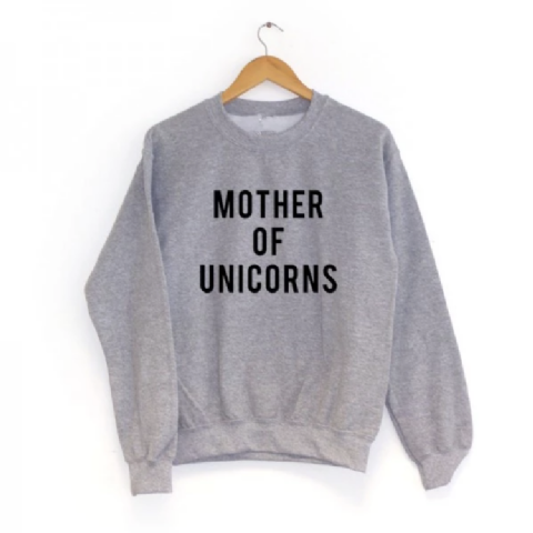 MOTHER OF UNICORNS JUMPER